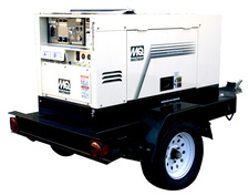 MultiQuip DLW400ATMP Diesel-Powered Welder - Generators