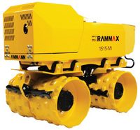 RW151524 Rammax Trench Skid-Steer Rollers