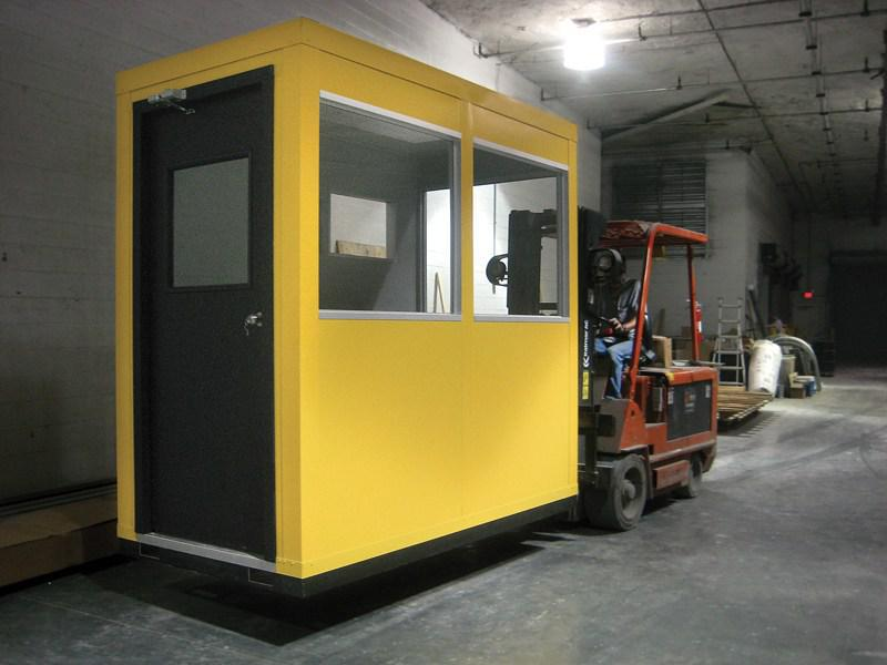 Security & Parking Booths Ship Fully Assembled
