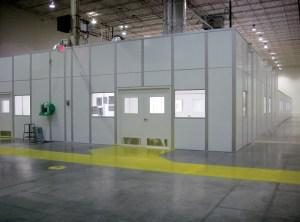 Packaging Rooms and Laboratories met Stringent Clean Room Requirements