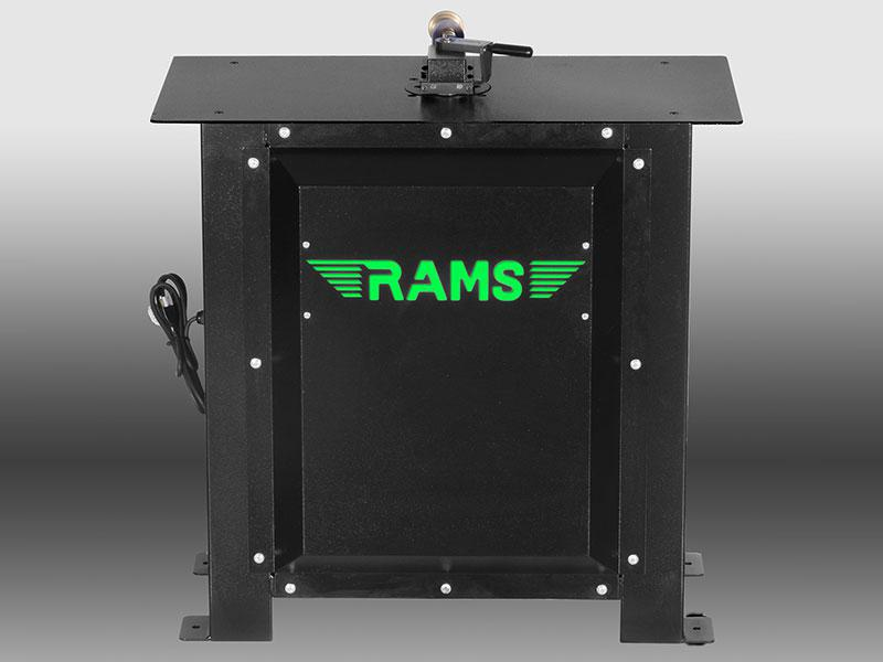 RAMS-2007-AA 20ga Stand Alone Power Flanger with Auto Adjust
