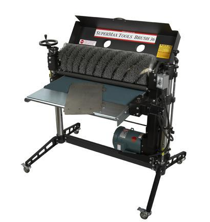 "SUPERBRUSH 24"", 36"" & 49""  SINGLE DRUM BRUSH SANDER"