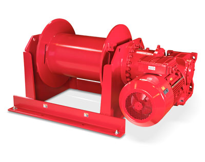 Heavy Duty Power Winches for Up to 56,000 lbs.