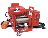 Model 4WP2T8 portable power winches