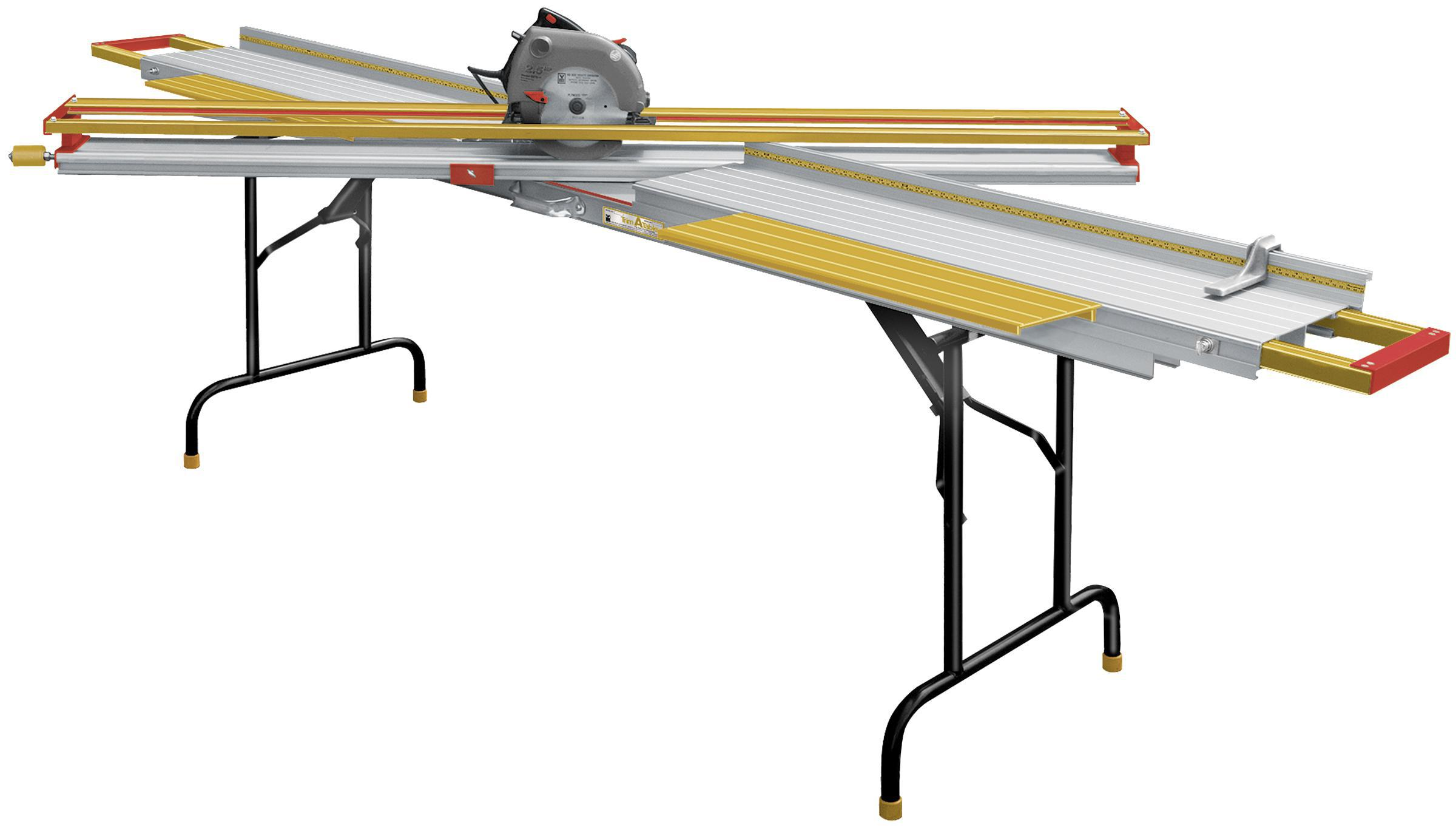 Trim-A-Table™ TAT60 with optional Steel Folding Legs