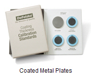 Certified Coating Thickness Standards