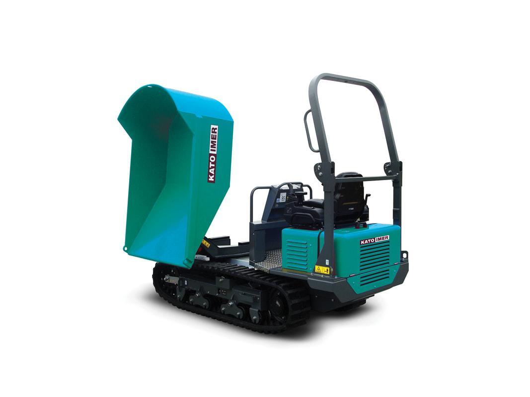 Carry 230 Diesel - 180° Swivelling Bucket | 24.8hp Kubota, w/ Tipping bucket