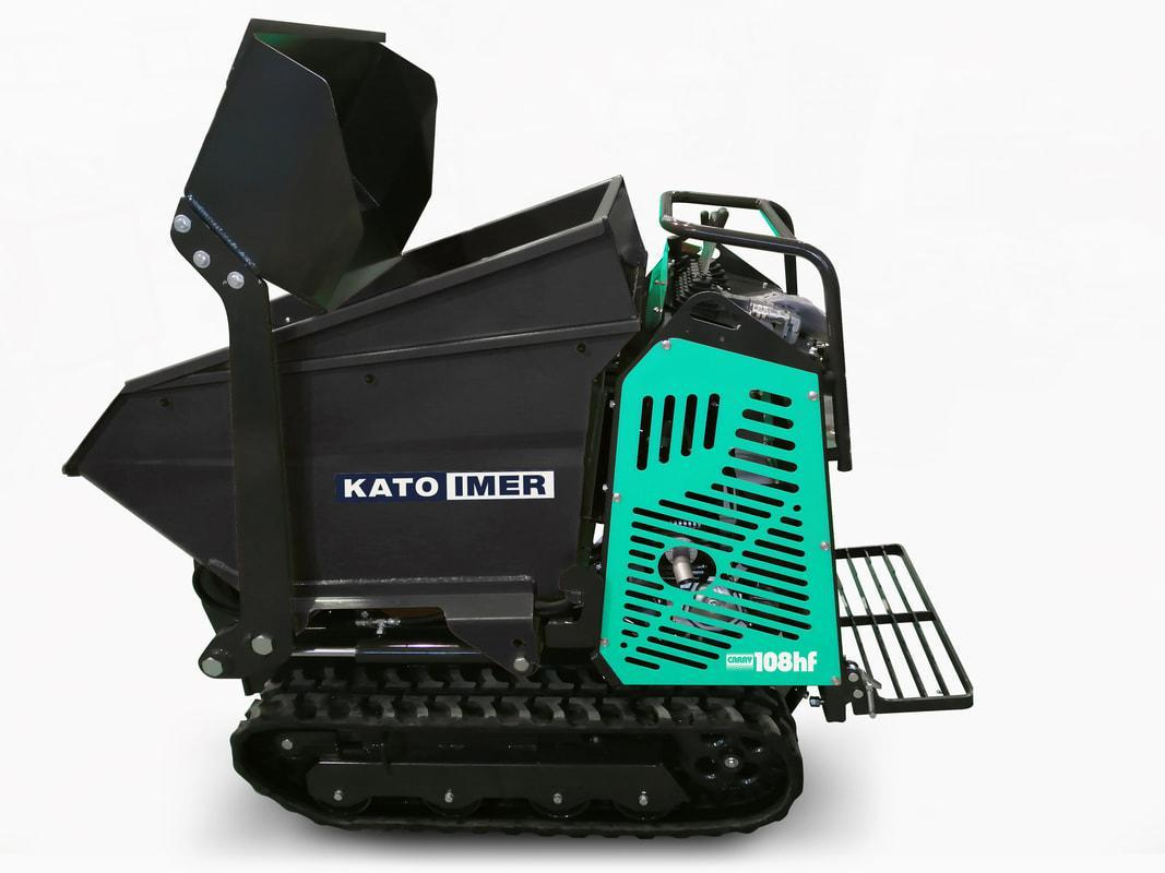 "Carry 108 HF G, 11hp Honda GX - ""High Flow†Tipping Bucket & Self-loading Shovel"