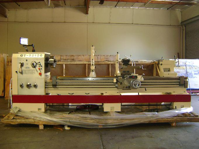 GMC GT-3280 GT-32120 Heavy Duty Precision gap Bed Lathes