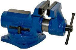 Yost 4 inch Compact Bench Vise with 360 degree Swivel Base