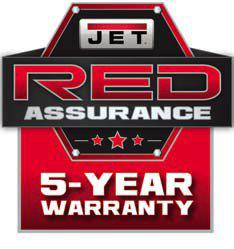 red warranty logo