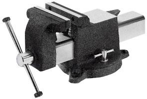 Yost All Steel Utility Combination pipe and bench Vise swivel base