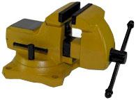 Yost Combination Pipe & Bench Mechanics Vise - Swivel Base High visibility