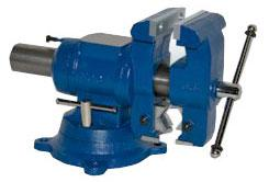 Yost Multi-jaw Rotating Combination Pipe and Bench Swivel Base Vise