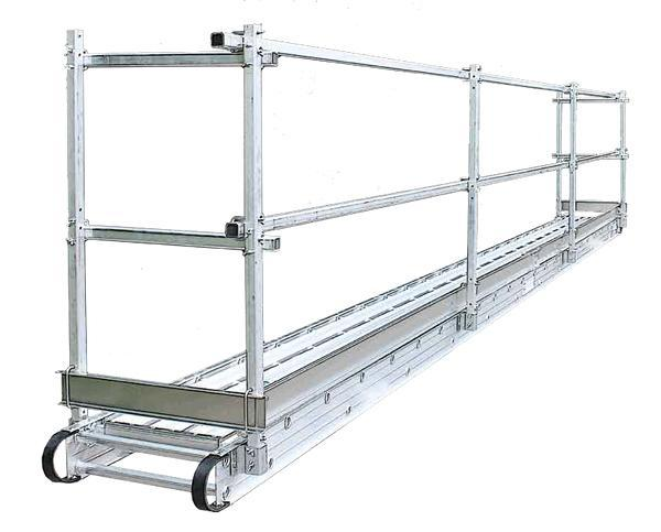 Leader Aluminum Guardrails