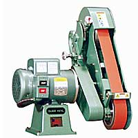 Burr King 960-250 2-Wheel Belt Grinder - 2.5 x 60