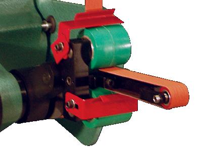 Burr King Model 960 400 4 Inch Two Wheel Belt Grinder
