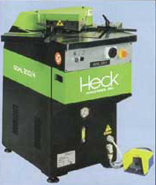 heck - fixed angle - hydraulic corner notcher
