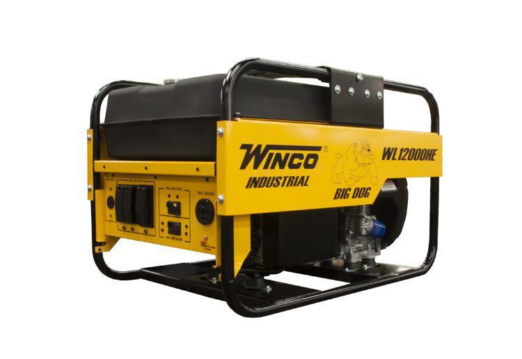 Winco Industrial Portable Generators