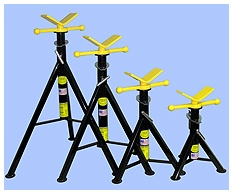 Blackjack V Head Pipe Jack Stands