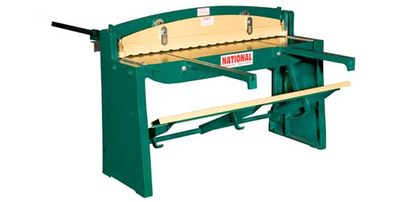 National sheet metal machines foot shear