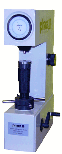phase ii Model No. 900-345 Superficial Rockwell Hardness Tester