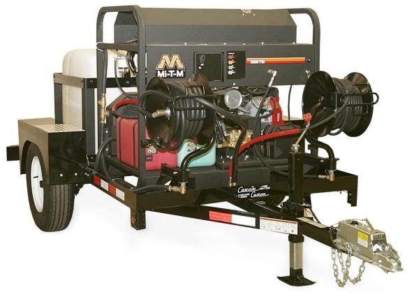 Mi T M Pressure Washer Trailer Single Axle