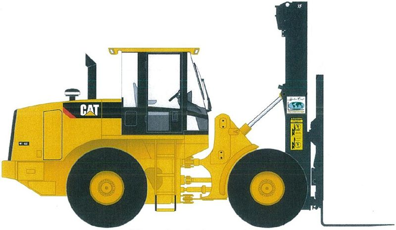 Master Craft Lifts Articulated 4wd Rough Terrain Forklifts