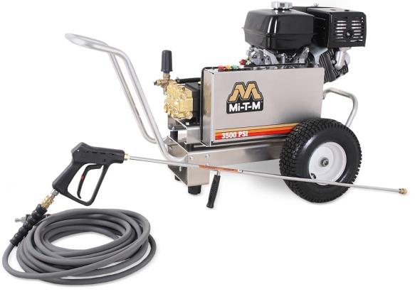 Mi T M Cba 3504 Series Aluminum Gas Pressure Washer