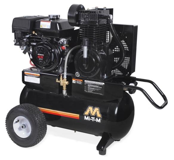 Mi T M 20 Gal Gasoline Two Stage Air Compressor