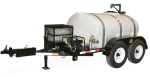 Water transport trailers - 510 GALLON TRAILER MOUNTER