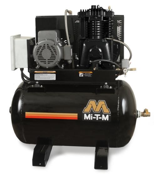 Mi T M Acs Series 80gal 7 5hp Simplex M Horizontal Air