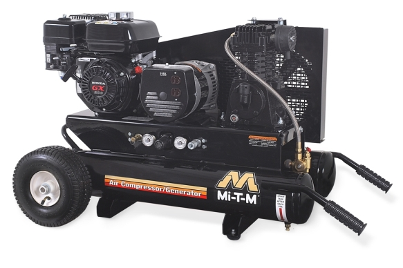 Mi T M Ag Single Stage Air Compressor Generator