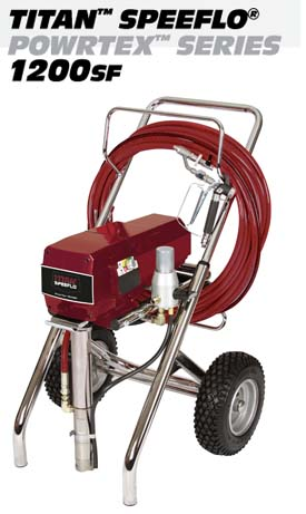 Titan Powrtex 1200sf Speeflo Texture Sprayers