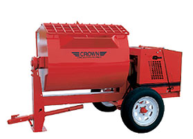 CROWN 4 - 5 BAG 16 CU FT hydraulic drive/dump mixer