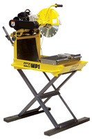 MULTIQUIP MP-1 MASONRY BLOCk, BRICK & precast SAW - both ELECTRIC & GAS VILble