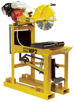 MULTIQUIP MP-2  heavy duty MASONRY BLOCK, BRICK & precast SAW - Both ELECTRIC & GAS