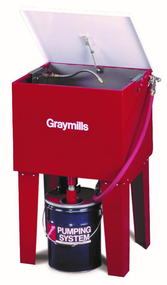 Graymills Flo Bac Parts Cleaner