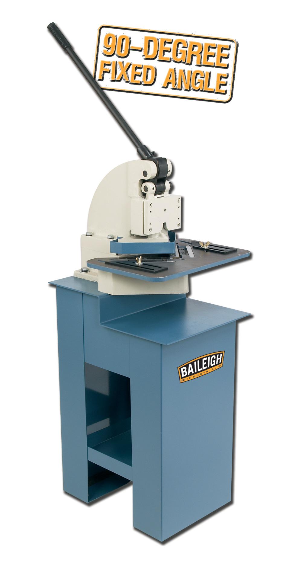 Baileigh Sn F16 Hn Sheet Metal Notcher