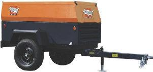 Atlas Copco - APT 90 KD Trailer Mounted Portable Compressor
