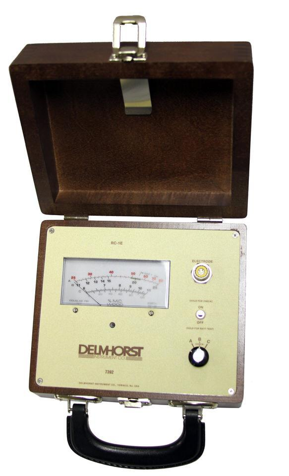 Delmhorst moisture meters for flooring and wood products for Wood floor moisture meter