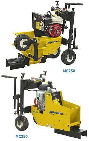 Miller Mc250 And Mc350 Curbing Machine