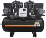 """M"" SERIES DUPLEX HORIZONTAL AIR COMPRESSOR 5 TO 15 HP"