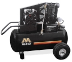 20-GALLON GAS & ELECTRIC PORTABLE AIR COMPRESSOR