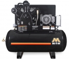 120-GAL ELECTRIC TWO STAGE HORIZONTAL AIR COMPRESSOR