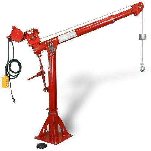 Adjustable Height Table Base Commander Series 2000 5124 Series portable davit cranes ...