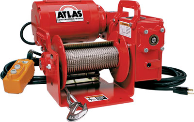 Thern Heavy Duty Power Wire And Rope Winches