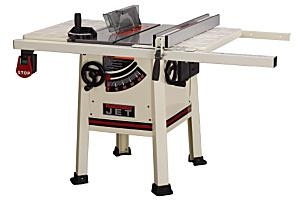 "JET 10""  PROSHOP TABLESAW"