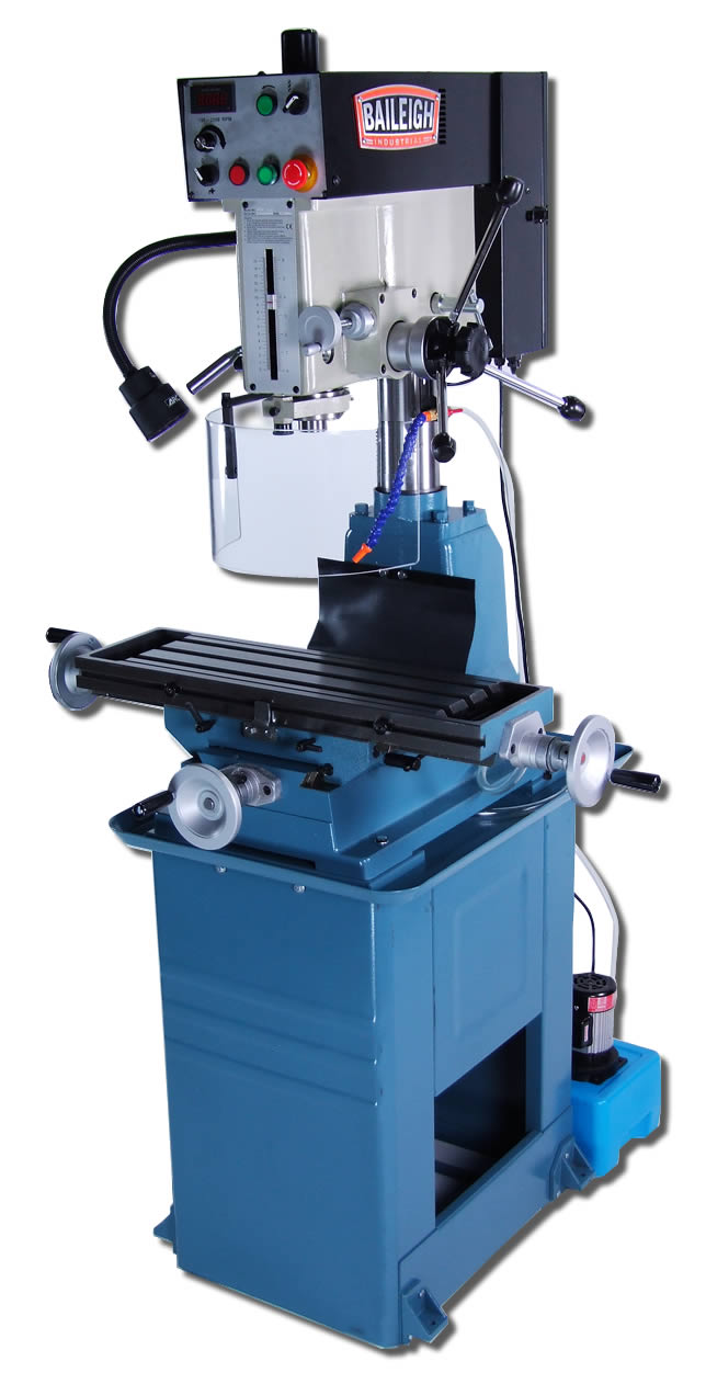 Baileigh Vmd 30vs Variable Speed Vertical Mill Drill Press
