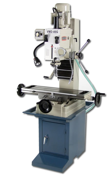 Baileigh Vmd 40g Gear Driven Vertical Mill Drill Press